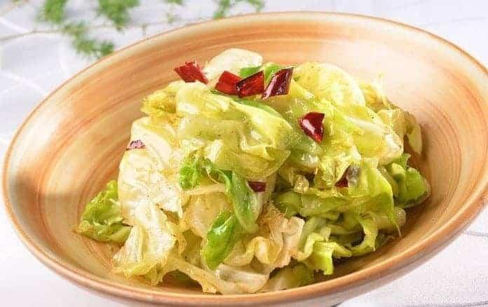 Easy Shredded Cabbage Recipein Few Step My Chinese Recipes