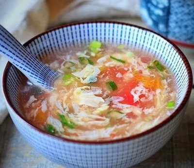 Tomato and Egg Flower Soup1