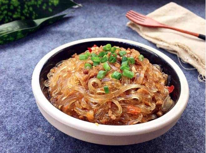 Ants On The Tree (Fried Chili Noodle) Recipe