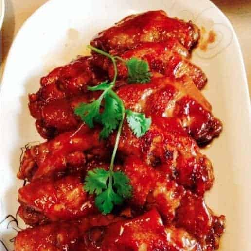 Chicken Wings with Honey Sauce Recipe
