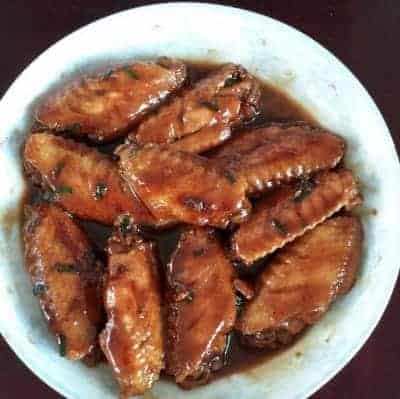 Chinese Braised Chicken Wings Recipe Step4