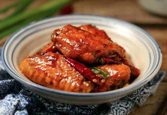 Chinese Braised Chicken Wings Recipe