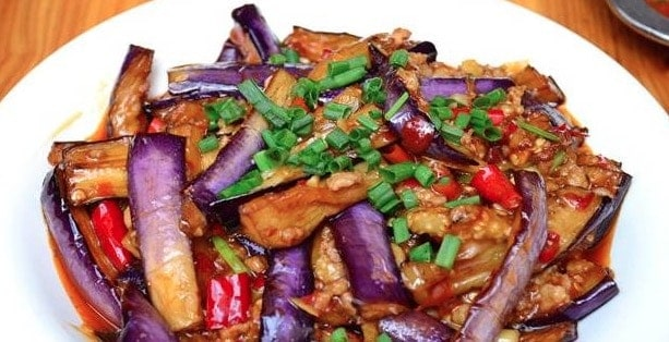 Chinese Braised Eggplant Recipe