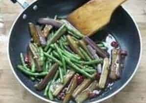 Fried Eggplant with Beans Recipe Step10