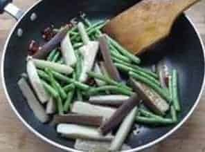 Fried Eggplant with Beans Recipe Step8