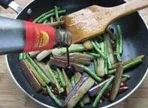 Fried Eggplant with Beans Recipe Step9