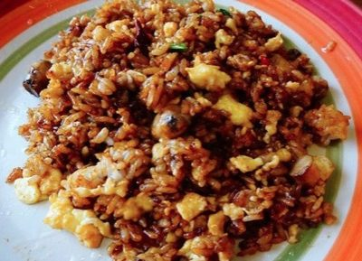 Fried Rice With Soy Sauce Recipe