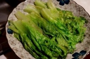 Lettuce With Oyster Sauce Recipe Step3