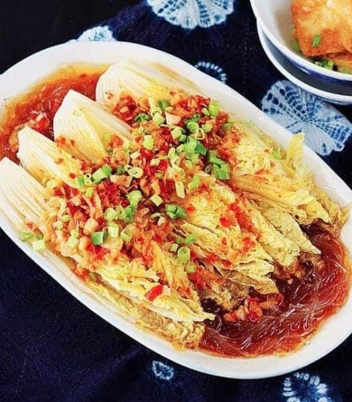 Baby Cabbage With Garlic Sauce Recipe