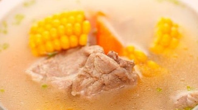 Ribs Corn Carrot Soup Recipe