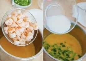 Shrimp With Fried Eggs Recipe step4