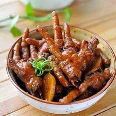 Special Roast Chicken Feet Recipe