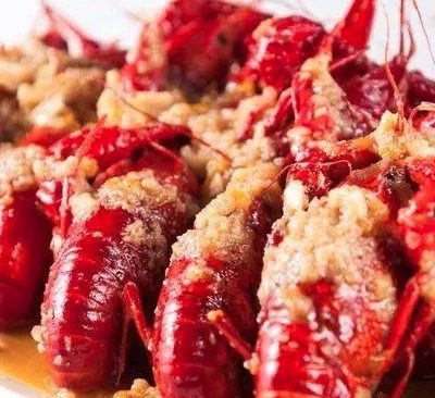 Chinese Crayfish With Garlic Sauce Recipe