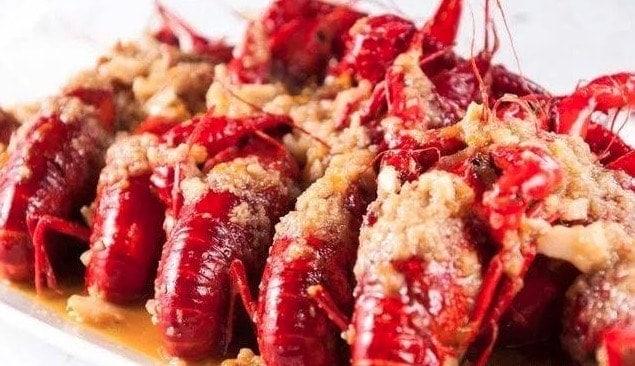 Chinese Crayfish With Garlic Sauce Recipe
