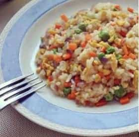 Chinese Fried Rice With Eggs Recipe Step4