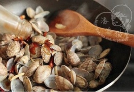 Chinese Spicy Fried Clams Recipe Step7