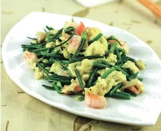 Chinese Stir-fry Shrimp With Chives Recipe