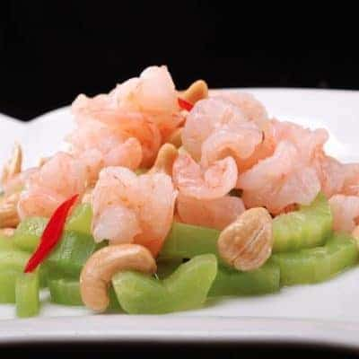 Chinese Fried Shrimps with Cashew Nut Recipe