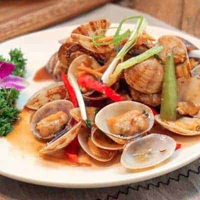 Chinese Fried Spicy Clams Recipe