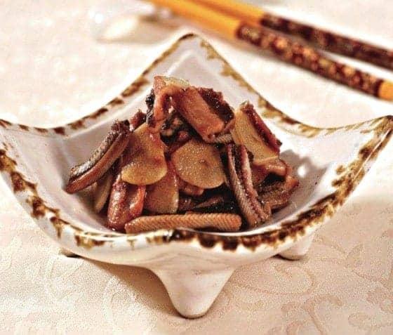Chinese Stir-fry Eels Recipe