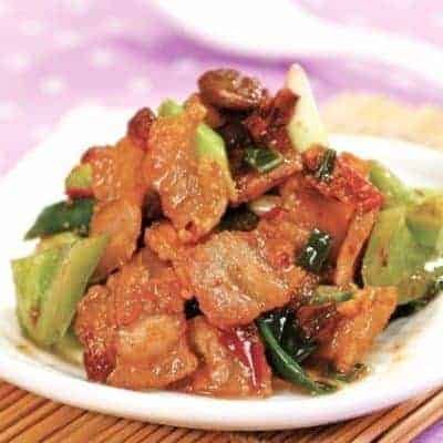 Sichuan Stew Pork Recipe
