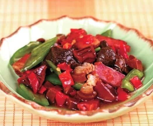 Stir-fry Pork withBamboo Shootsand Mushrooms