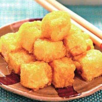 Chinese Fried Crispy Tofu Recipe