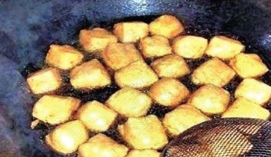 Chinese Fried Crispy Tofu Recipe Step4