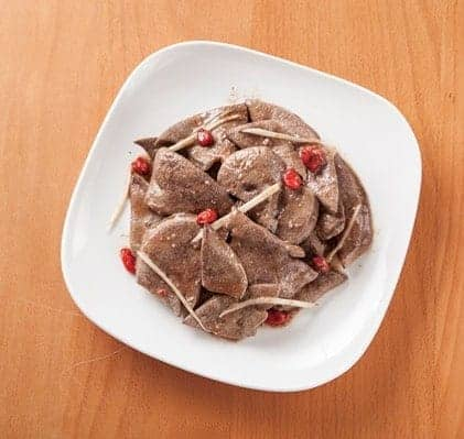 Chinese Fried Pork Liver with Sweet Soybean Paste Recipe