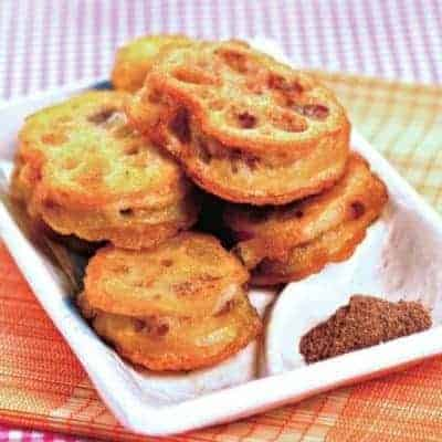 Chinese Fry Lotus Root Sandwich Recipe