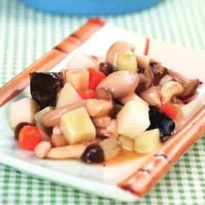Chinese Sauteed Assorted Vegetable Recipe