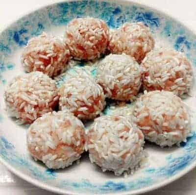 Chinese Steam Pork Meatball Recipe