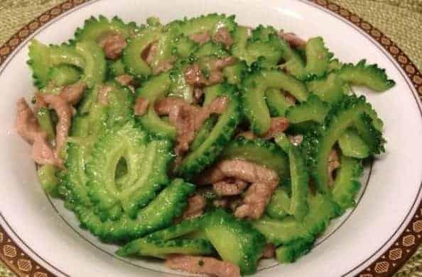 Chinese Stir-friedPork WithBitter Melon Recipe
