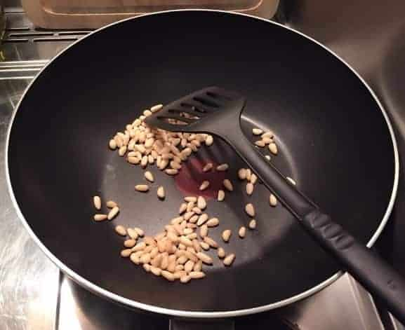 Chinese Stir fry Pine Nuts And Corns Recipe Step2