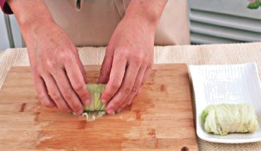 Steamed Chinese Cabbage Roll Recipe Step3 1