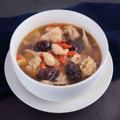 Chinese Black Chicken Soup with Goji Soup Recipe