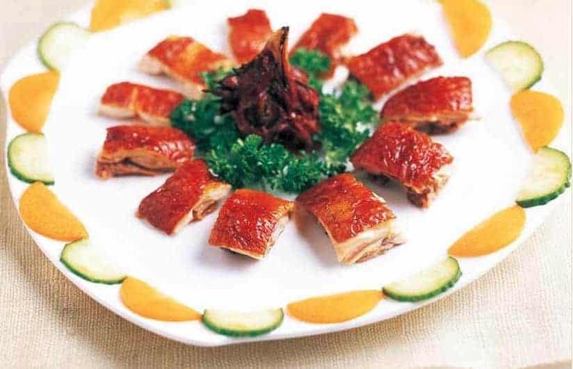 Chinese Roasted Chicken Skin Slice Recipe
