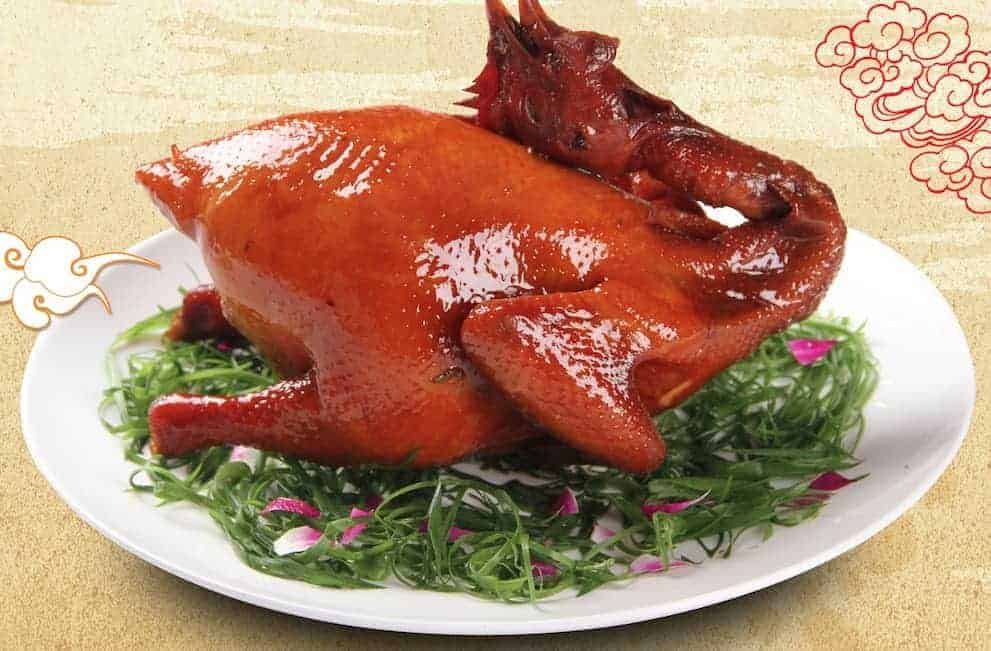 Chinese Roasted Chicken with Seasoned Soy Sauce Recipe