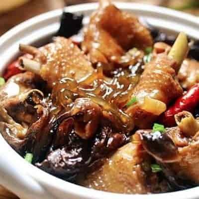 Chinese Stewed Chicken With Mushroom Recipe