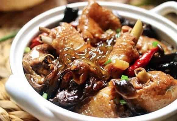 Chinese Stewed Chicken With Mushroom Recipe