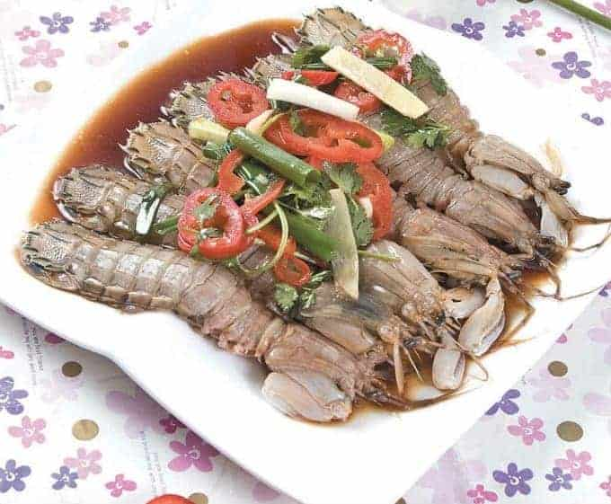 Marinated Mantis Shrimp Recipe
