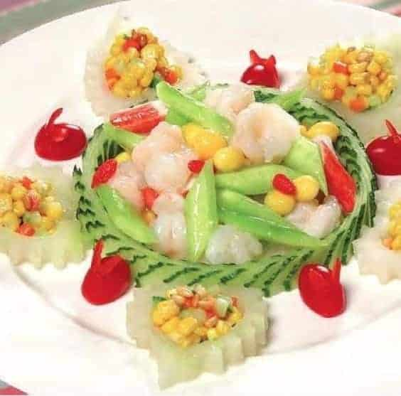 3 Steps Shrimp Balls With Assorted Nuts Recipe