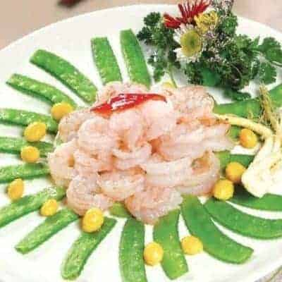 3 Steps Shrimp with Ginseng and Gingko Nut Recipe