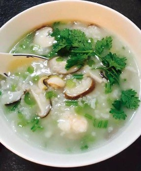 Abalone with Assorted Seafood Porridge step7