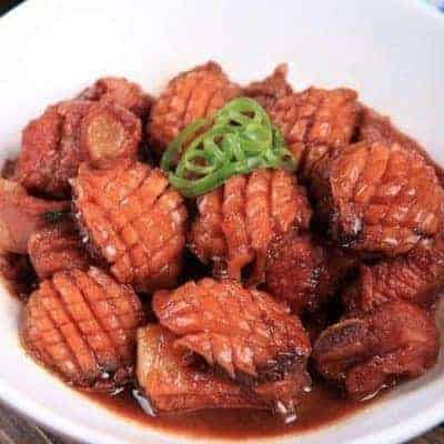 Braised Abalone With Pork Ribs Soup Recipe