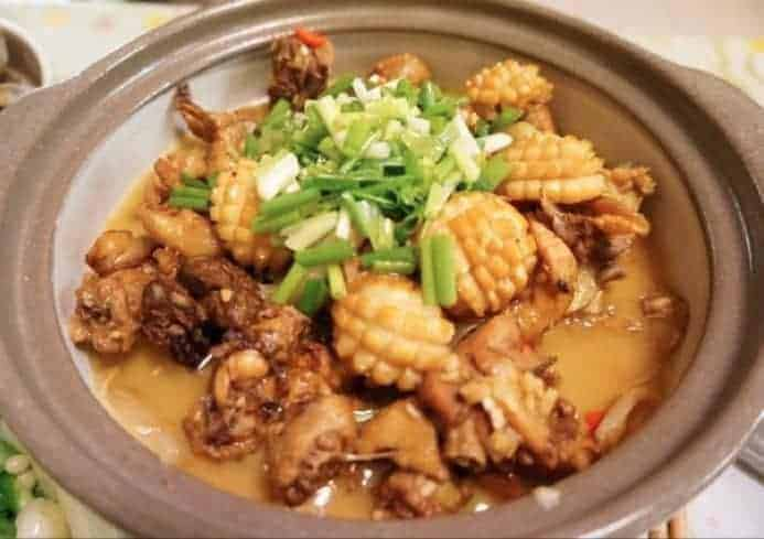 Chinese Abalone Flavor Chicken Pot