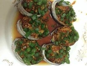 Steamed Abalone with Green Onions Oil Recipe step4