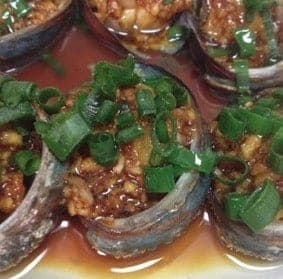 Steamed Abalone with Green Onions Oil Recipe step6