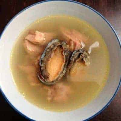 Stewed Abalone With Chicken Soup Recipe
