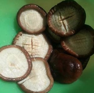 Vegan Abalone Flavored Shiitake Mushroom step3